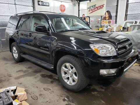 2004 Toyota 4Runner for sale at Devaney Auto Sales & Service in East Providence RI