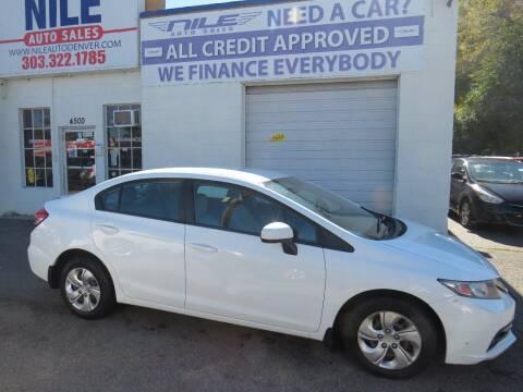 2014 Honda Civic for sale at Nile Auto Sales in Denver CO