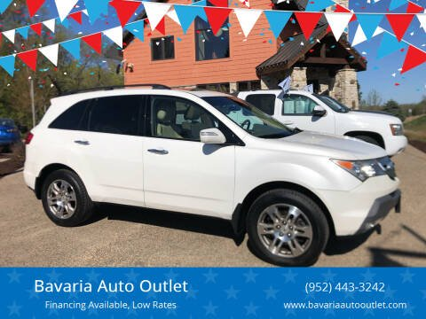 2007 Acura MDX for sale at Bavaria Auto Outlet in Victoria MN