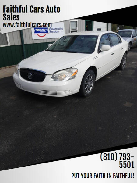 2007 Buick Lucerne for sale at Faithful Cars Auto Sales in North Branch MI