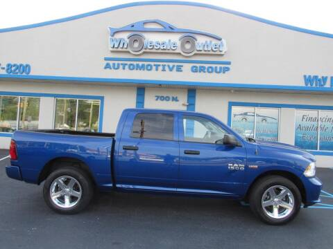 2015 RAM Ram Pickup 1500 for sale at The Wholesale Outlet in Blackwood NJ