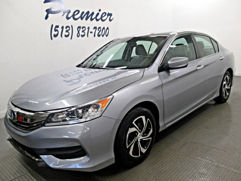 2017 Honda Accord for sale at Premier Automotive Group in Milford OH