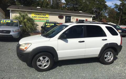 2005 Kia Sportage for sale at Carolina Car Country in Little River SC
