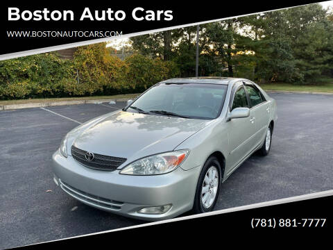 2004 Toyota Camry for sale at Boston Auto Cars in Dedham MA