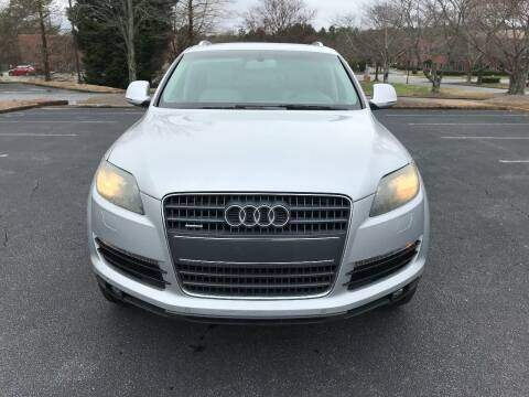2009 Audi Q7 for sale at SMZ Auto Import in Roswell GA
