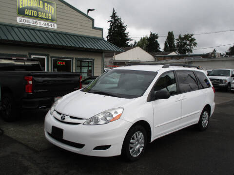 2009 Toyota Sienna for sale at Emerald City Auto Inc in Seattle WA