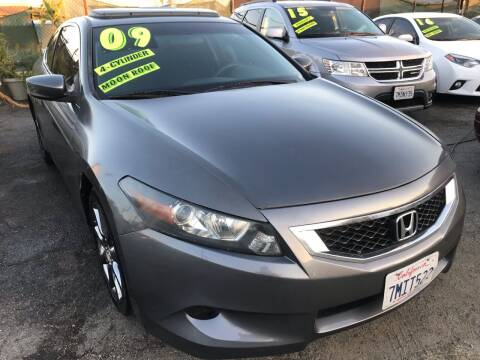 2009 Honda Accord for sale at CAR GENERATION CENTER, INC. in Los Angeles CA