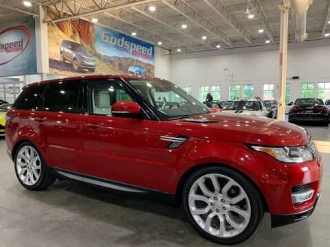 2015 Land Rover Range Rover Sport for sale at Godspeed Motors in Charlotte NC