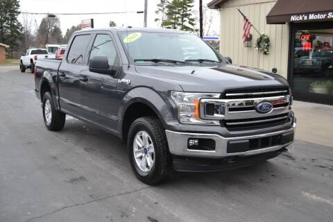 2018 Ford F-150 for sale at Nick's Motor Sales LLC in Kalkaska MI