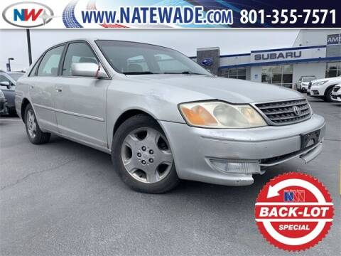 2003 Toyota Avalon for sale at NATE WADE SUBARU in Salt Lake City UT