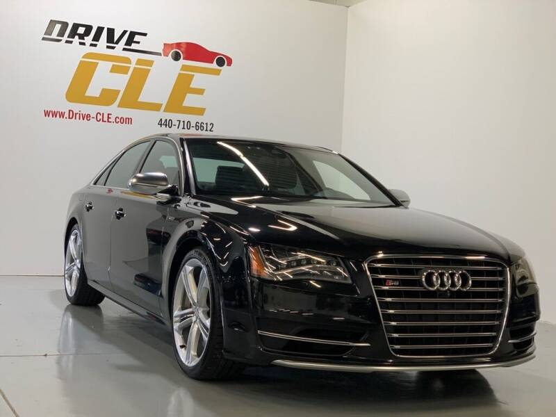 2013 Audi S8 for sale at Drive CLE in Willoughby OH