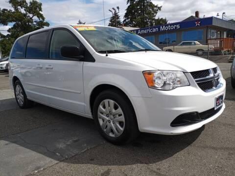 2017 Dodge Grand Caravan for sale at All American Motors in Tacoma WA