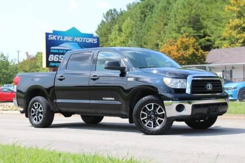 2010 Toyota Tundra for sale at Skyline Motors in Louisville TN