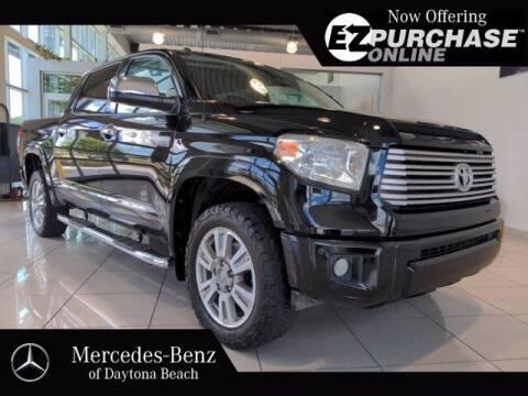2015 Toyota Tundra for sale at Mercedes-Benz of Daytona Beach in Daytona Beach FL