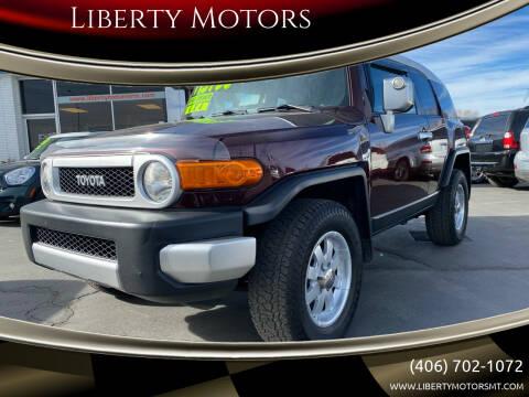2007 Toyota FJ Cruiser for sale at Liberty Motors in Billings MT