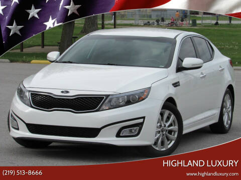 2015 Kia Optima for sale at Highland Luxury in Highland IN