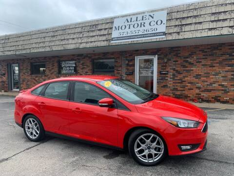 2015 Ford Focus for sale at Allen Motor Company in Eldon MO