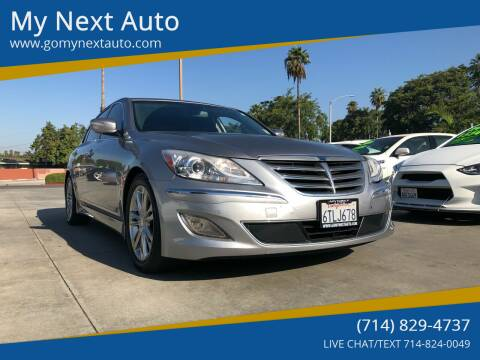 2012 Hyundai Genesis for sale at My Next Auto in Anaheim CA