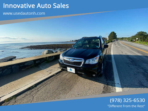 2016 Subaru Forester for sale at Innovative Auto Sales in North Hampton NH