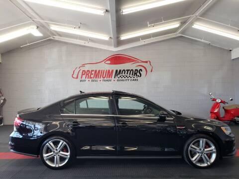 2016 Volkswagen Jetta for sale at Premium Motors in Villa Park IL