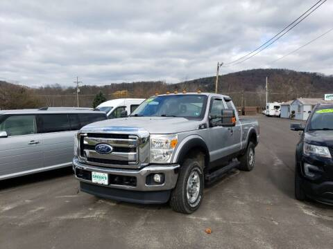 2011 Ford F-250 Super Duty for sale at Greens Auto Mart Inc. in Wysox PA