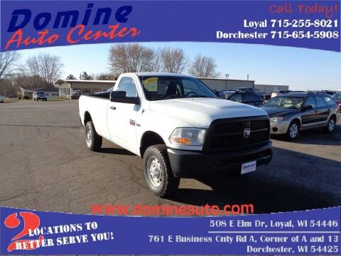 2012 RAM Ram Pickup 2500 for sale at Domine Auto Center - commercial vehicles in Loyal WI