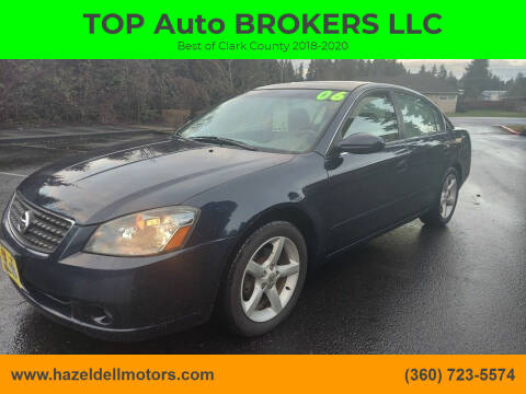 2005 Nissan Altima for sale at TOP Auto BROKERS LLC in Vancouver WA