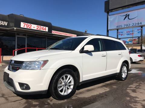 2015 Dodge Journey for sale at NORRIS AUTO SALES in Oklahoma City OK