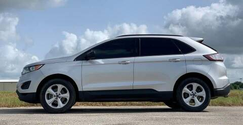 2016 Ford Edge for sale at Palmer Auto Sales in Rosenberg TX