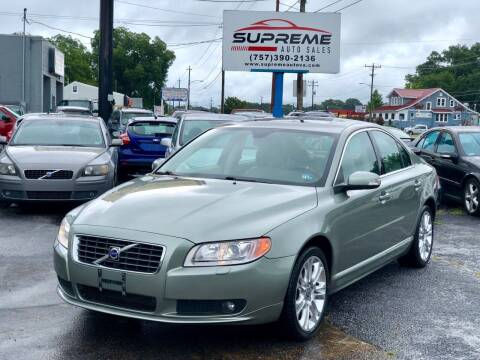 2007 Volvo S80 for sale at Supreme Auto Sales in Chesapeake VA