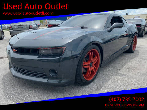 2014 Chevrolet Camaro for sale at Used Auto Outlet in Orlando FL