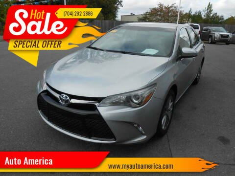 2015 Toyota Camry for sale at Auto America in Monroe NC