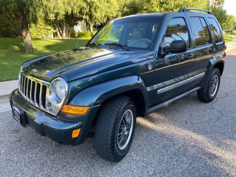 2006 Jeep Liberty for sale at Donada  Group Inc in Arleta CA