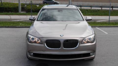 2011 BMW 7 Series for sale at Quality Motors Truck Center in Miami FL