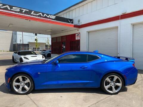 2017 Chevrolet Camaro for sale at FAST LANE AUTO SALES in San Antonio TX