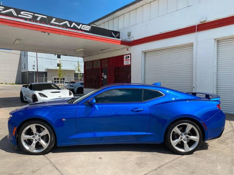 2017 Chevrolet Camaro for sale at FAST LANE AUTO SALES in San Antonio TX