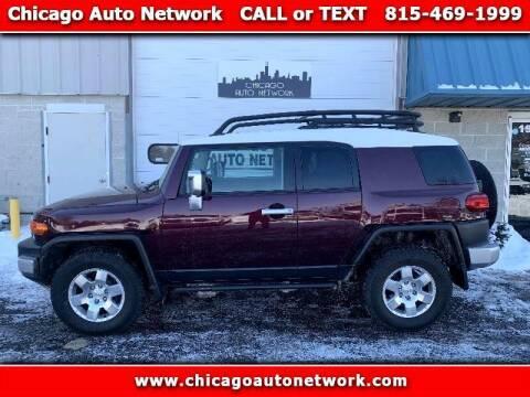 2007 Toyota FJ Cruiser for sale at Chicago Auto Network in Mokena IL