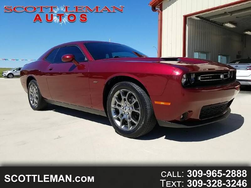 2017 Dodge Challenger for sale at SCOTT LEMAN AUTOS in Goodfield IL
