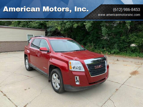 2015 GMC Terrain for sale at American Motors, Inc. in Farmington MN
