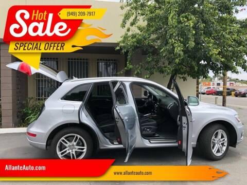 2015 Audi Q5 for sale at AllanteAuto.com in Santa Ana CA