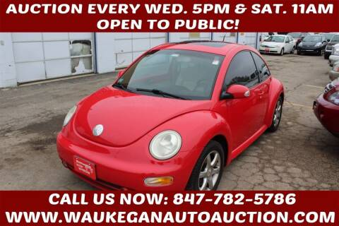 2004 Volkswagen New Beetle for sale at Waukegan Auto Auction in Waukegan IL