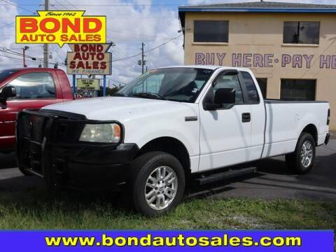 2007 Ford F-150 for sale at Bond Auto Sales in Saint Petersburg FL