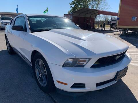 2012 Ford Mustang for sale at JAVY AUTO SALES in Houston TX