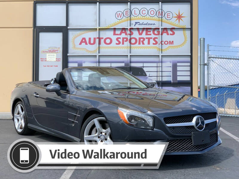 2015 Mercedes-Benz SL-Class for sale at Las Vegas Auto Sports in Las Vegas NV