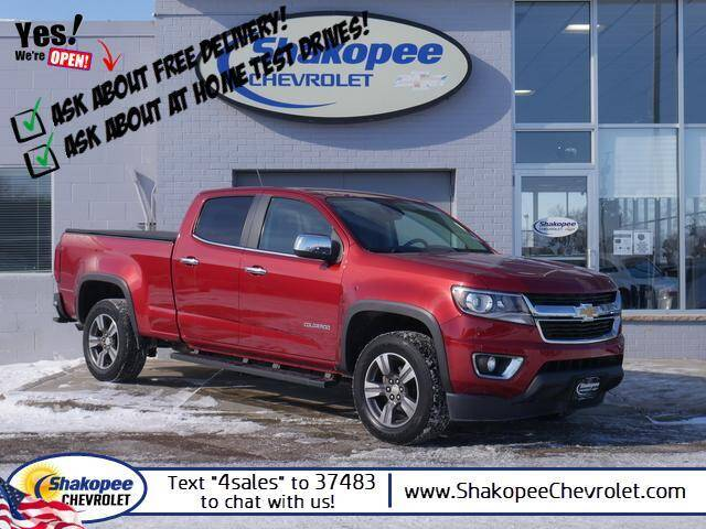 2015 Chevrolet Colorado for sale at SHAKOPEE CHEVROLET in Shakopee MN