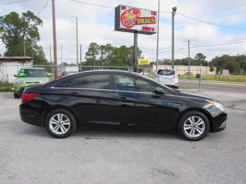 2013 Hyundai Sonata for sale at Checkered Flag Auto Sales EAST in Lakeland FL