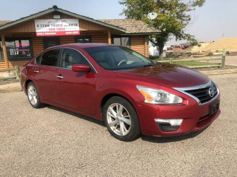2013 Nissan Altima for sale at 5 Star Truck and Auto in Idaho Falls ID