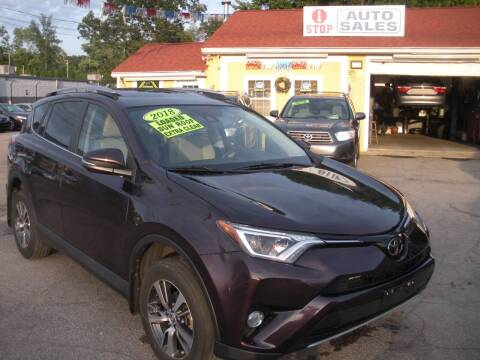2018 Toyota RAV4 for sale at One Stop Auto Sales in North Attleboro MA