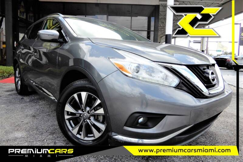 2017 Nissan Murano for sale at Premium Cars of Miami in Miami FL