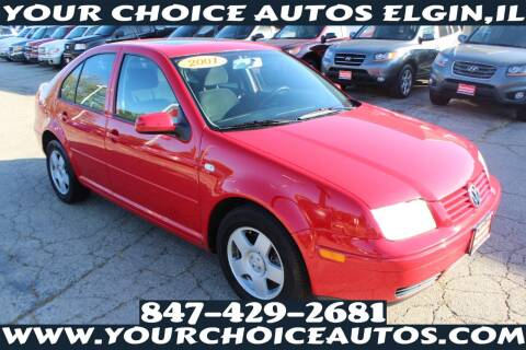2001 Volkswagen Jetta for sale at Your Choice Autos - Elgin in Elgin IL